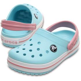 Crocs Crocband Clogsit Lapset, ice blue/white